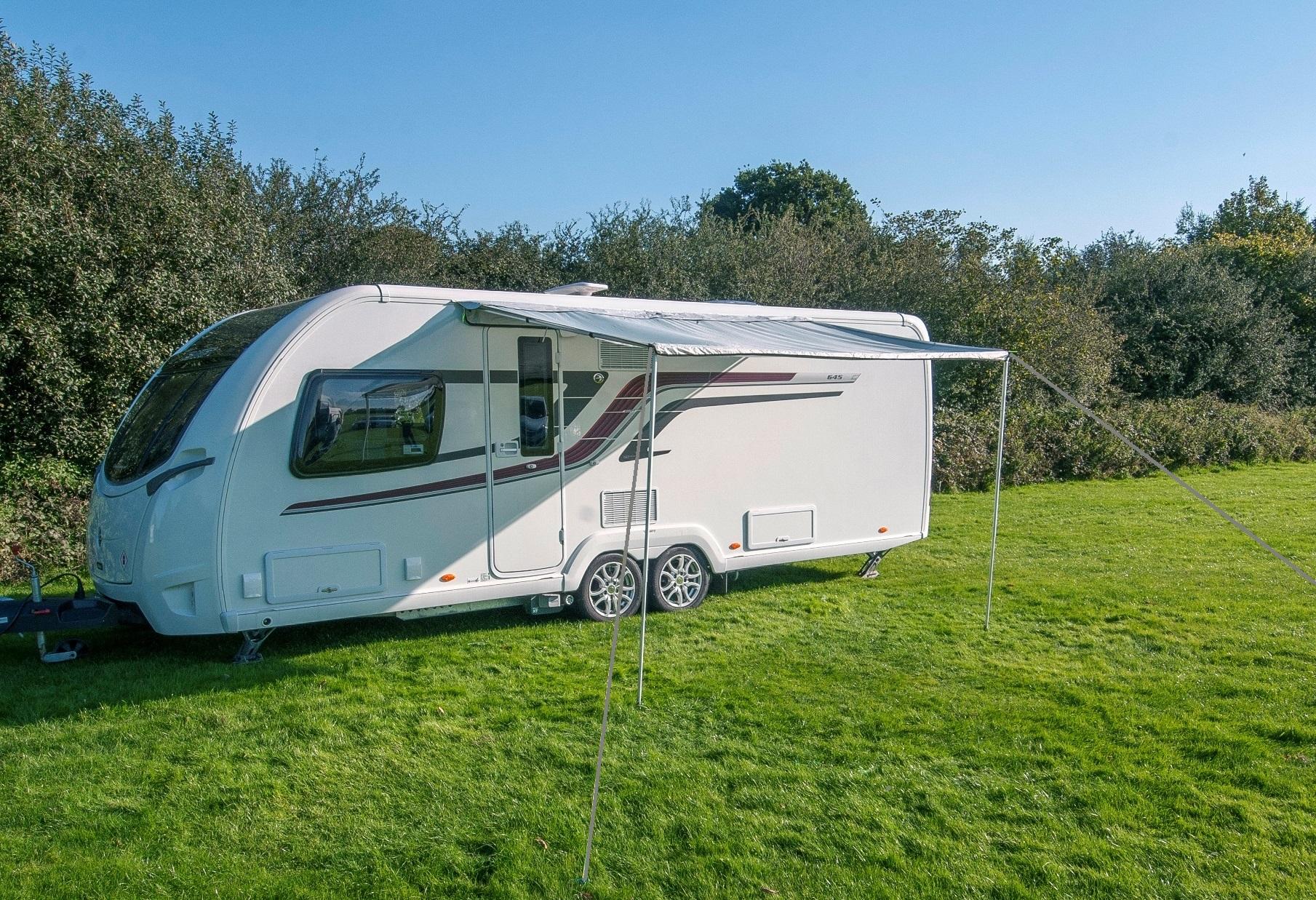Sunncamp Protekta Roll Out Sun Canopy - Pioneer Caravans ...